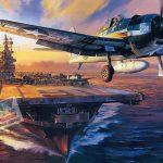 Aircraft Carrier-ink